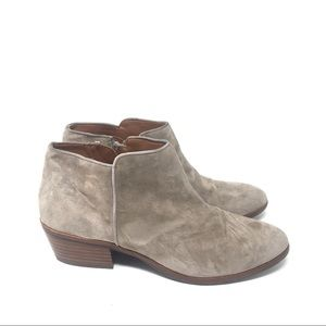 Sam Edelman Petty Booties Leather Suede 8.5